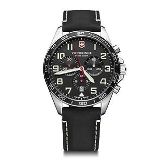 Victorinox Hombre Field Force Chronograph – Reloj de Acero Inoxidable de Cuarzo analógico de fabricación Suiza 241852