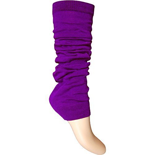 Purple Leg Warmers for Adults - other colours available