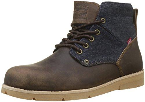 Levi's Jax, Stivali Desert Boots Uomo, Marrone (Dark Brown 29), 44 EU