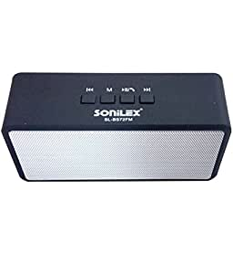Sonilex SL-BS72FM Bluetooth Speaker With Call Attending Option(MIC)+Rechargable