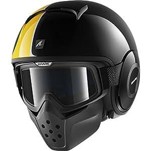 Shark - Motorcycle helmets - Shark Raw Stripe KOS - S