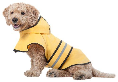 Ethical Pets Fashion Pet Rainy Days Slicker-Yellow Large