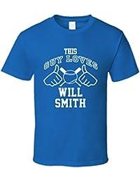 This Guy Loves Will Smith Kansas City Baseball Player Classic T Shirt XXXX-L