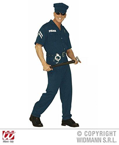 Größe 50/52 (M) (Polizist Halloween Kostüm Für Männer)