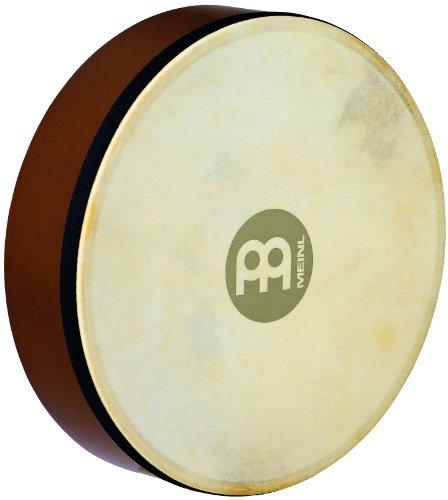 Meinl Percussion HD10AB Hand Drum mit Ziegenfell, 25,4 cm (10 Zoll) Durchmesser, african brown