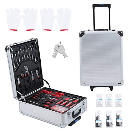 Carrello portautensili ad alte prestazioni set 899 pcs mobile toolbox per officina con scatola porta attrezzi utensile professionale hnad tool