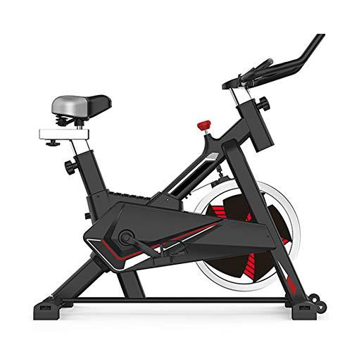 HLEZ Bicicleta Estática de Spinning Profesional con Sensor de Pulso, Ajustable Resistencia Bicicleta...