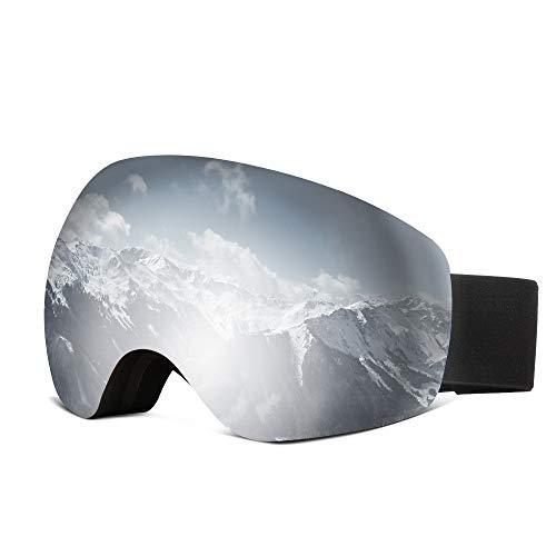 e9cfdfee8d JOYTUTUS Lunettes de Ski Masques Snowboard Lunettes, Motoneige Moto  Lunettes Ski Goggles Lens Anti-