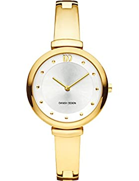 Danish Design Damen-Armbanduhr Analog Edelstahl Gold DZ120545
