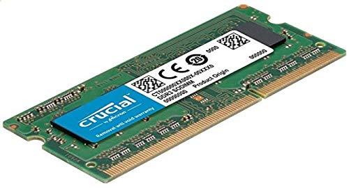 Price comparison product image Crucial CT2KIT51264BF160B 8 GB Kit (4 GB x 2) (DDR3L,  1600 MT / s,  PC3L-12800,  SODIMM