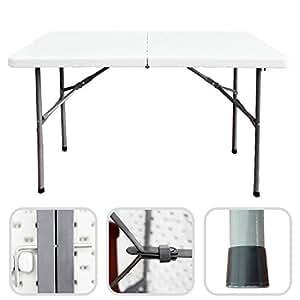 todeco klappbarer tisch garten klapptisch material hdpe maximale belastbarkeit 100 kg. Black Bedroom Furniture Sets. Home Design Ideas