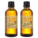 Naissance Eukalyptusöl (Eucalyptus Globulus) (Nr. 101) 200ml (2x100ml) 100%...