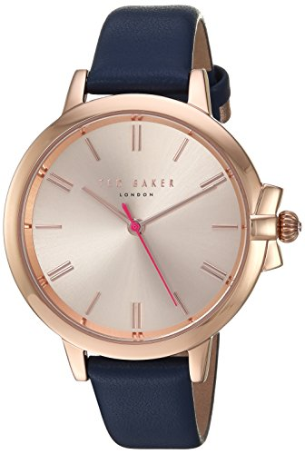Ted Baker Women's Analog Quartz Watch With Leather Strap Te50267004