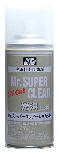 Preisvergleich Produktbild Mr. Super Clear Spray 170ml. UV Cut Gundam Hobby (Gloss)