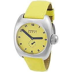 Pasquale Bruni Uomo Edelstahl Swiss Made Automatic Herren-Armbanduhr 99Magg