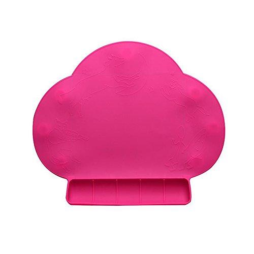 Preisvergleich Produktbild E Support™ Silikon Pad Baby Tischset Wasserdicht Antibiose Geschirr Tischset für Baby Fütterung