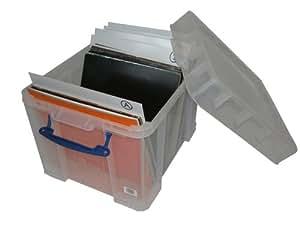 lp schallplatten useful big box 35 liter. Black Bedroom Furniture Sets. Home Design Ideas
