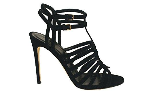 sergio-rossi-womens-a74160nero-black-suede-sandals