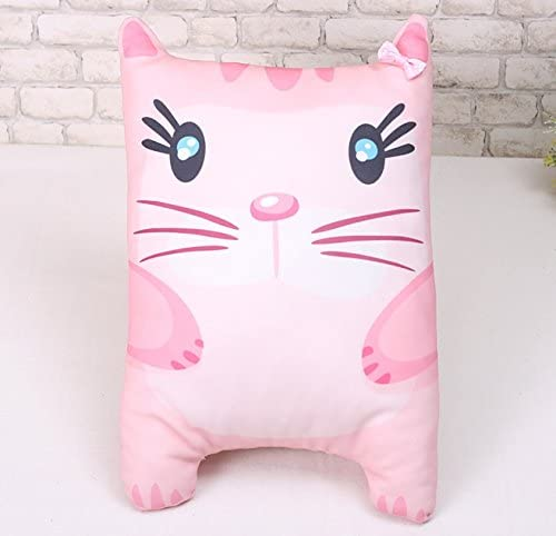 Korea Toy - Pink cat cushion pattern (front and the rear) | Belle En Couleurs