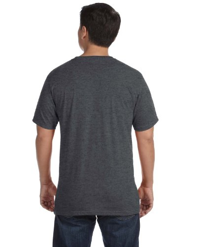 anvil Herren Sustainable T-Shirt / 450 XXXL,Grau - Heather Charcoal
