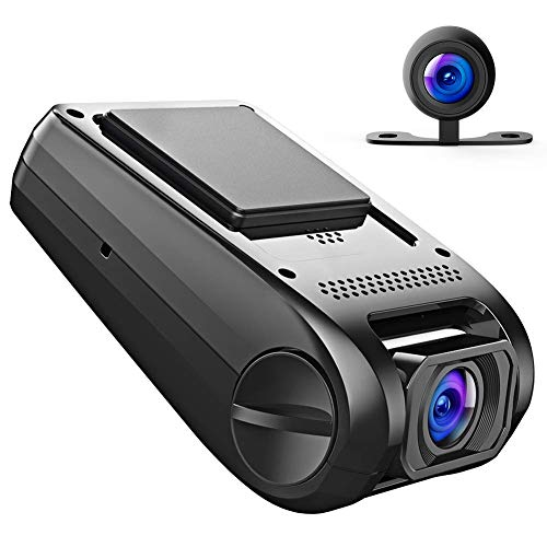 APEMAN 1080P FHD Dual In Car Dash Cam Camera DVR Digital Driving Video Recorder ...