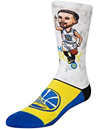 3af210229c6 Stance NBA Golden State Warriors Curry Big Head Chaussettes Homme  Multicolore
