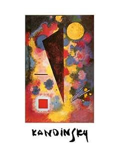 Reproduction d'art 'Résonance multicolore, 1928', de Wassily Kandinsky, Taille: 24 x 30 cm
