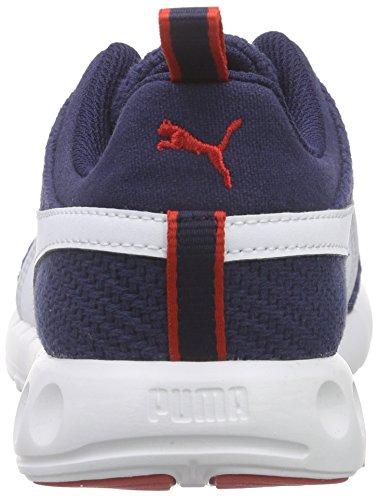 Puma Carson Runner Cv, Scarpe da corsa Unisex Adulto Blu (Blau (peacoat-white-high risk red 06))