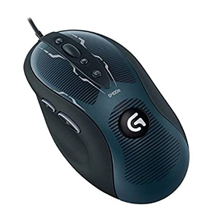 Logitech G400s - Ratón óptico gaming para video...