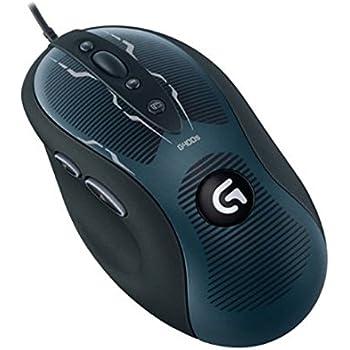Logitech G400s - Ratón óptico gaming para videojuegos de ordenador, color negro/ gris