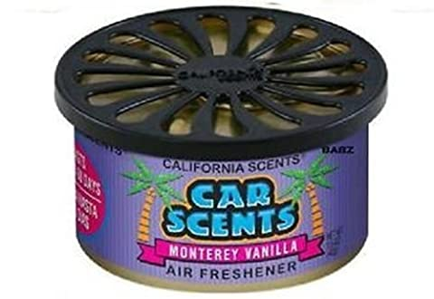 California Car Scents Duftdose für das Auto. Duftrichtung (MA VANILLA)