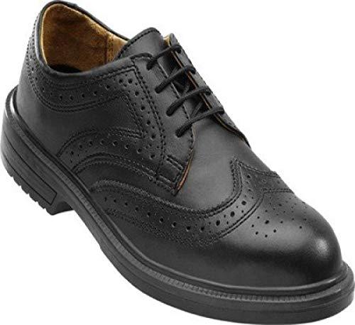 OTTER 96707 Sicherheitsschuhe edel für Business Büro Anzug Chef ESD S1 Schuhe, Größe:44