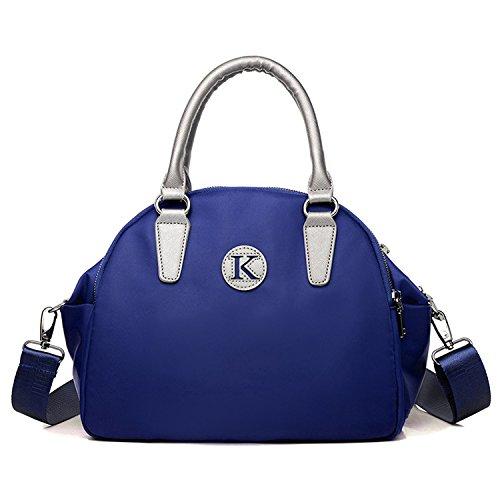 MeCooler Umhängetasche Designer Taschen Damen Handtasche Mode Tragetasche Schultertasche Lässig Messenger Bag für Mädchen Blau