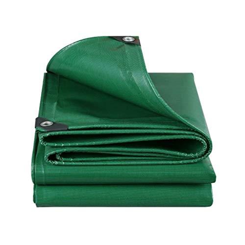 Kampierendes Segeltuch aufgefülltes regendichtes Sonnenschutz-LKW-Segeltuch im Freien schützende Schuppenstoffisolationsabnutzung beständiges Grün (Farbe : A, größe : 2 * 1.5)
