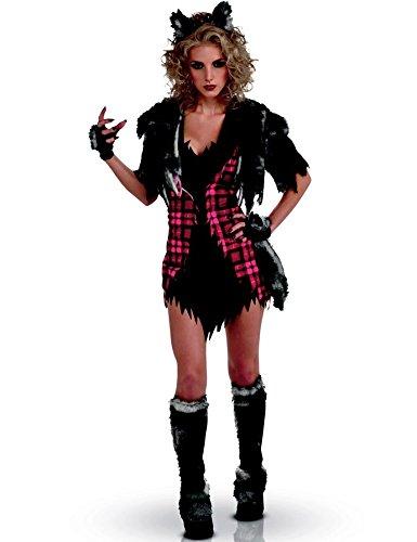 Sexy Werwolf Kostüm für Damen (Sexy Kostüme Werwolf)