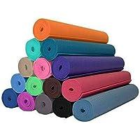 Tappetino yoga 4 MM 173X61 Vari Colori Fitness Sport Palestra Aerobica Pilates Ginnastica MATERASSINO STUOIA Antiscivolo