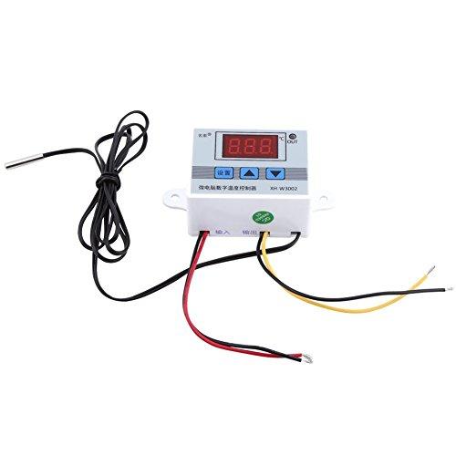 XH-W3002 Digital Temperaturregler, Digitaler Thermostat Temperaturregler, Steuerung Kühlung Heizung - Heizung Kühlung Thermostat