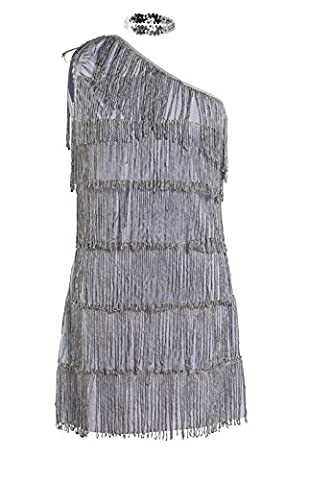Flappers Costumes - 20s Costume Flapper Fancy Dress Mesdames années