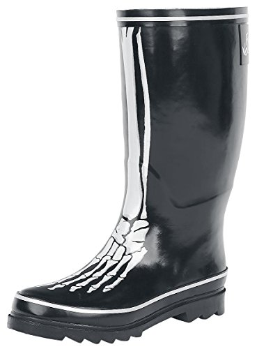 Full Volume by EMP Bone Rubber Boot Stivali pioggia nero EU38