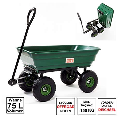 Izzy Bollerwagen Gartenwagen Handwagen (75 L)