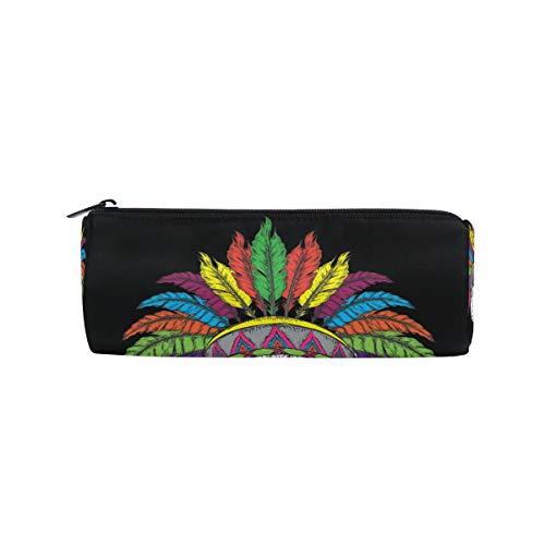Ahomy - Estuche para lápices con cremallera colorida, atrapasueños, para adolescentes y niños, bolsa de maquillaje de viaje para mujeres