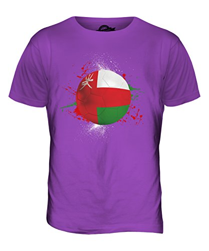 CandyMix Oman Fußball Herren T Shirt Violett