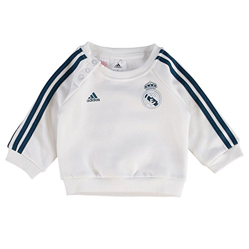 Real Madrid Stripe Baby Jogger White Months