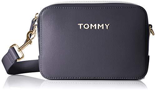 Tommy Hilfiger Damen Th Corporate Crossover Business Tasche, Blau (Tommy Navy), 1x1x1 cm (Damen Hilfiger Handtasche Tommy)