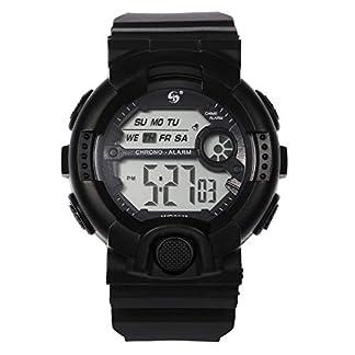 UINGKID-Collection-Unisex-Armbanduhr-Herren-Uhren-Ultra-Dnne-Multi-Funktions-10M-Wasserdichte-Uhr-Digital-Double-Action-Watch