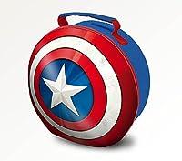 Lunchbox di Capitan America Manico imbottito e con targhetta per none. Misure: 24 x 12 x 24cm 60% poliestere, 40% PEVA Prodotto ufficiale su licenza.
