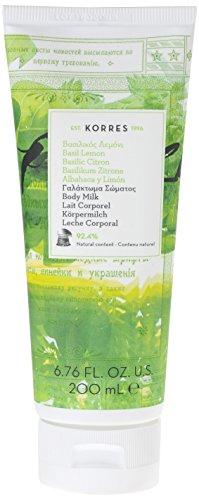Korres Basil Lemon Körpermilch, 1er Pack (1 x 200 ml)