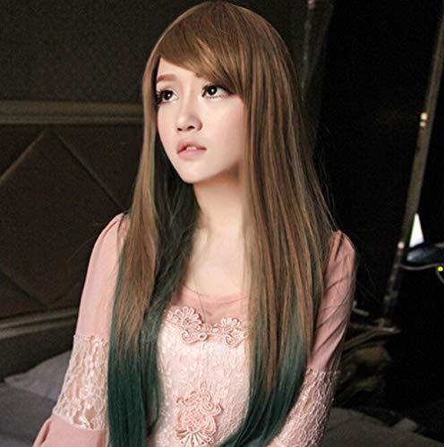 Perücke_cosplay Anime Perücke Harajuku Stil Farbe weibliches langes lockiges Haar