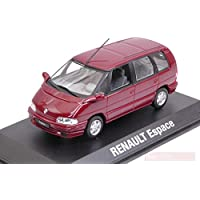 NOREV NV7711575953 Renault Espace 1992 Malaga Red Metallic 1:43 Die Cast Model