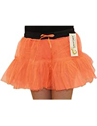 Crazy Chick Girl Halloween Dance Costume 2 Layer Tutu Skirts Hen Night Party Fancy Dress